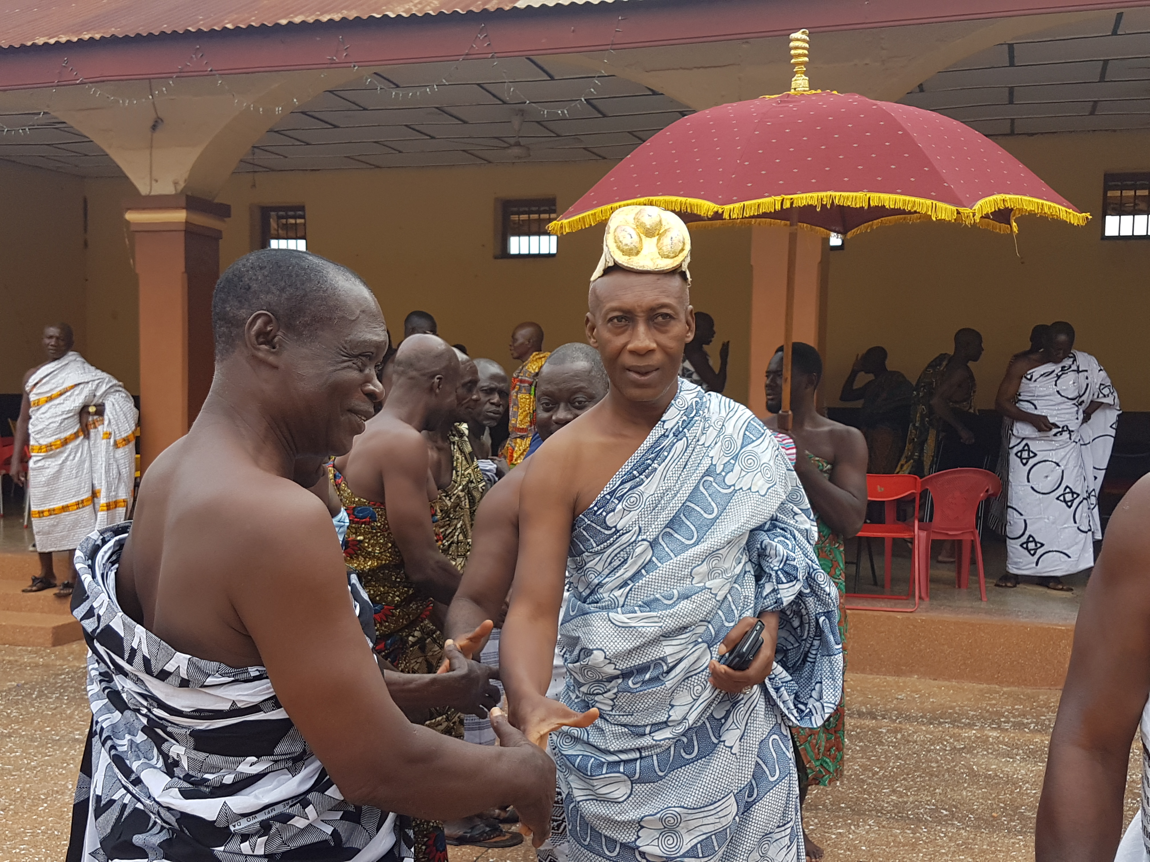 Nana Osei Kwadwo II(Bekwai Omanhene)Akwasidae pic….