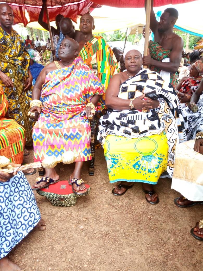 Nana Osei Kwadwo II(Bekwai Omanhene)@Osei  Tutu II @ 20th Anniversary Pics……