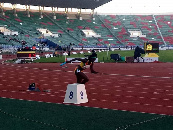African Games: Ghana finishes 8th in women's 4 x 100m relay final after baton drop